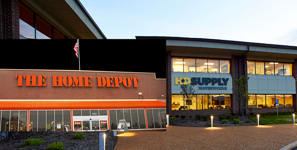 HOME DEPOT COMPLETES ACQUISITION OF HD SUPPLY